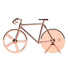 DOIY the fixie metallic pizza cutter