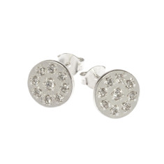 Lucilla stud earrings in silver
