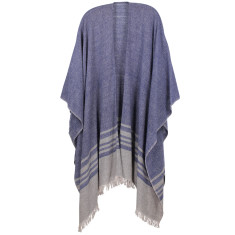 Micki Lambswool Blend Cape (various colours)
