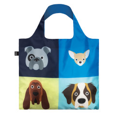 LOQI cats & dogs collection reusable bag (various designs)