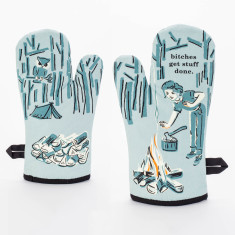 B*tches Get Stuff Done - Quirky Oven Mitt by Blue Q