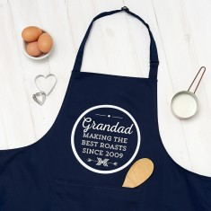 Personalised Grandad The Best Cooking Apron