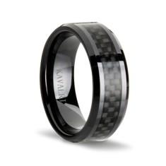 Double black carbon fibre ring