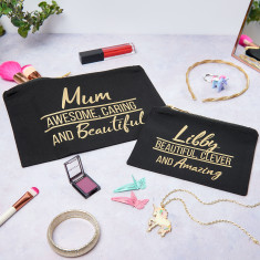 Personalised Mum And Child Make Up Set