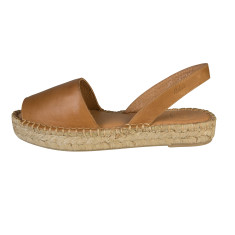 Alohas Tan Leather Ibiza Sandal