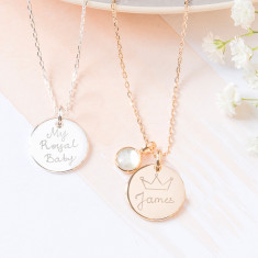 Personalised My Royal Baby Necklace - Limited Edition