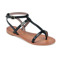 Hilan les tropeziennes sandals in black