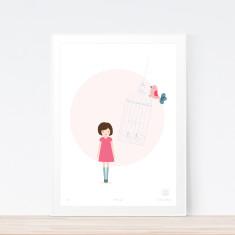 Birdcage art print