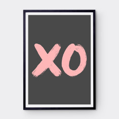 XO art print (various colours)