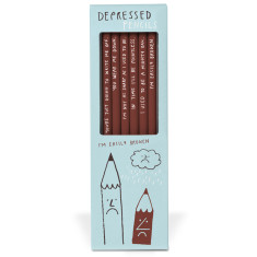 Depressed Pencil Set