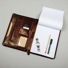 The Dimaro Italian Leather Conference Folder