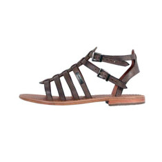 Les Tropeziennes French sandals in Hicare gris/grey