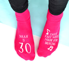 Personalised Women's Birthday Socks