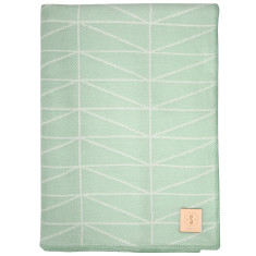 Geo throw in mint