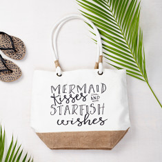 Mermaid Kisses Beach Bag