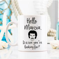 Personalised Is it Tea your looking for coffee mug