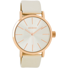 Rose gold watch (champagne or blush pink)