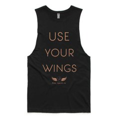 Use Your Wings Tank - Organic Cotton & Bamboo