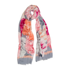 Pastel bloom luxe scarf
