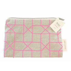 Geo pink purse