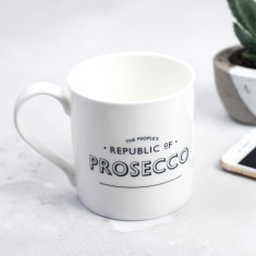 The People's Republic of Prosecco Bone China Mug