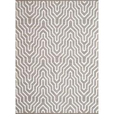 Ripple sand rug
