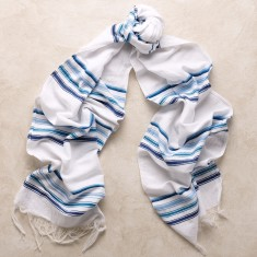 Cala Rossa scarf in blue