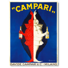 Campari Brothers canvas