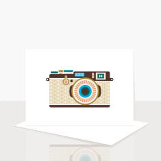 Camera Greeting Card (Pack of 8)