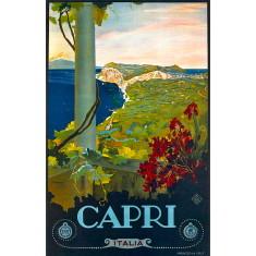 Capri vintage wall tile