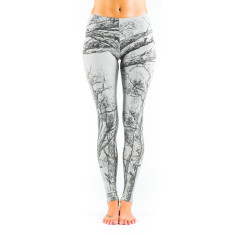 Trees cotton marle leggings