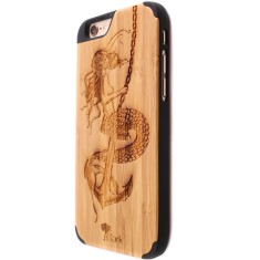 Captain's curse bamboo iPhone 6/6S case