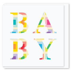Baby mini card (3 pack)