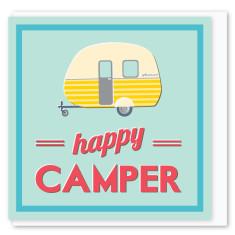 Happy camper mini card (3 pack)