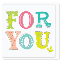 For you mini card (3 pack)