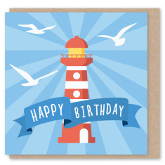 Lighthouse mini card (3 pack)