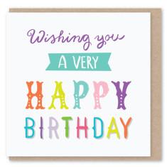 Wishing you mini card (3 pack)