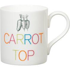 Carrot top mug