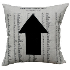 Arrow cushion cover