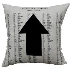 Arrow cushion cover