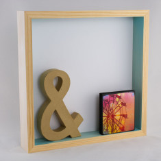 Shadowbox shelf (various colours)