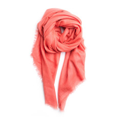Cashmere Lena scarf in pink