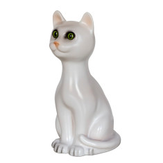 Heico sitting cat lamp