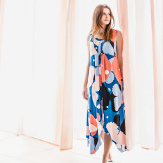 Farfalla maxi lounge dress with secret support