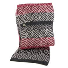 Mizzle wool scarf