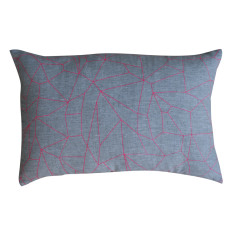Geometric rectangle cushion cover