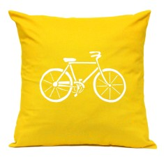 Bicycle handmade cushion cover
