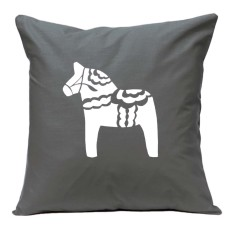 Swedish Dala horse handmade cushion cover (various colours)