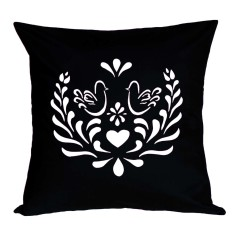 Love birds kurbits handmade cushion cover