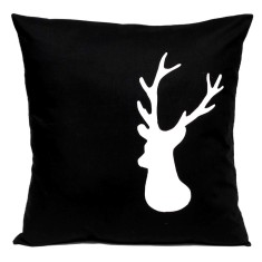 Deer handmade cushion cover (various colours)